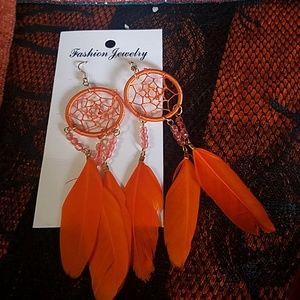 New dreamcatcher earrings